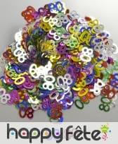 Confettis n°80 multicolores