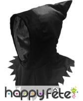 Cagoule noire de sans visage