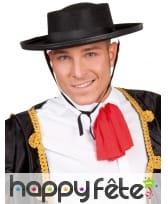 Chapeau noir espagnol de matador