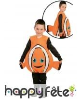 Combinaison Némo le poisson clown pour enfant, image 1