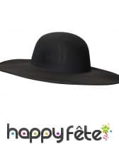 Chapeau noir médecin de la peste