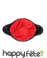 Chapeau noir uni de torero pour adulte, image 1
