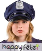 Casquette police americaine