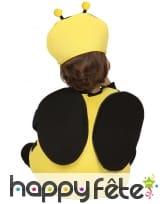 Costume petite abeille jaune et noire pour bébé, image 1