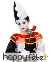 Chapeau pointu de Pierrot pour enfant