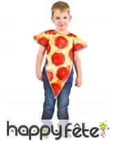 Costume part de pizza pour enfant