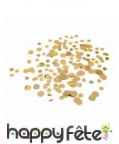 Confettis pailletés et dorés en papier kraft 30g, image 2