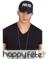 Collier pendentif insigne de police, image 2