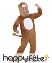 Costume peluche lion