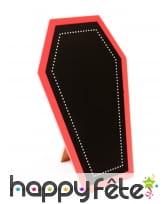 Cercueil porte menu de 19cm