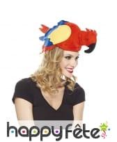 Chapeau perroquet pour adulte