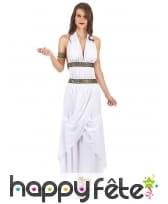 Costume robe blanche de reine grecque, image 1