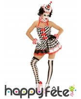Costume robe courte de mime avec jupon, image 1