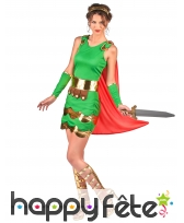 Costume robe de femme centurion, image 1