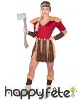 Costume robe de femme Viking