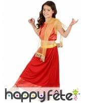 Costume rouge de petite Danseuse de Bollywood, image 1