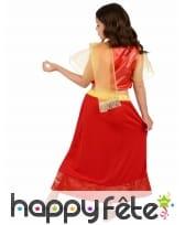 Costume rouge de petite Danseuse de Bollywood, image 2
