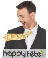 Cravate recouverte de sequins, image 3