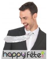 Cravate recouverte de sequins, image 4