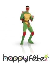 Costume Raphael, tortue ninja. Adulte