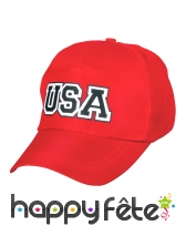 Casquette rouge USA, image 1