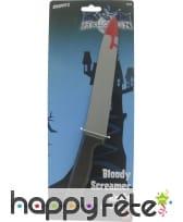 Grand couteau ensanglanté, image 1
