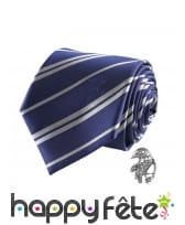 Cravate Serdaigle avec pin's, deluxe