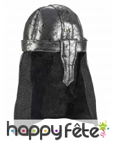 Casque souple de chevalier pour adulte