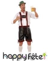 Costume salopette de bavarois pour adulte