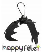 Chauve-souris noire de 20cm à suspendre