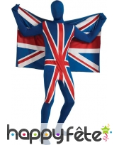 Combinaison seconde peau Union Jack