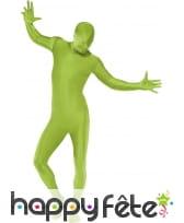 Combinaison seconde peau vert