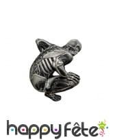 Costume skull seconde peau squelette, image 1
