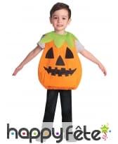 Costume tête de citrouille pour enfant