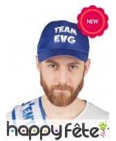 Casquette Team EVG bleu