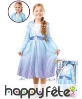 Coffret tresse et robe de Elsa, Reine des neiges 2