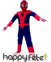 Costume Ultimate Spider-Man musclé pour enfant