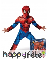 Costume Ultimate Spider-Man pour enfant, luxe