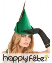 Chapeau vert de Robin pour adulte, image 1