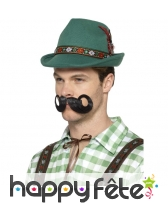 Chapeau vert de tyrolien, luxe