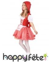 Costume vichy de petit chaperon rouge pour enfant, image 1