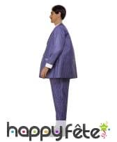 Costume violet de Gomez Addams pour homme, image 1