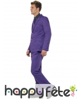 Costume violet uni, image 2