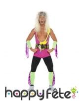 Costume Wrestler champion années 90