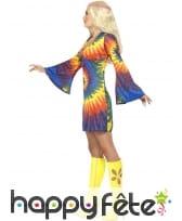 Déguisement années 1960 femme sexy hippie, image 2