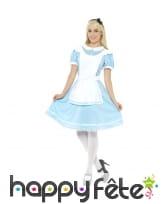 Déguisement Alice au pays des merveilles, adulte