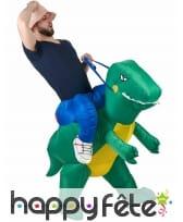Déguisement à dos de T-rex, image 4