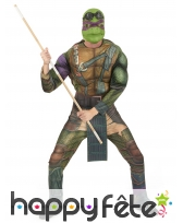 Déguisement adulte de Donatello, Tortues Ninja