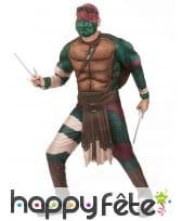 Déguisement adulte de Raphael, Tortues Ninja, image 1