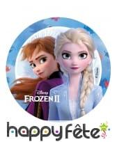 Disque azyme Elsa et Anna 14,5cm